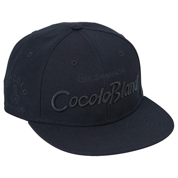 画像1: CURSIVE LOGO SNAP BACK CAP ( BLACK / BLACK ) (1)
