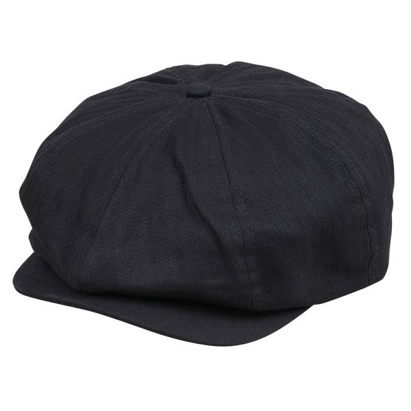 画像1: BONG LOGO HUNTING CAP(BLACK) (1)