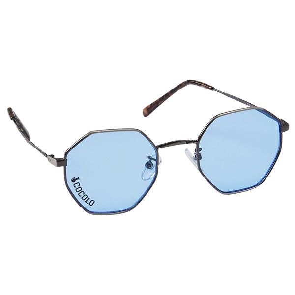 画像1: TOY SUNGLASS OCTAGON(BLUE LENS) (1)